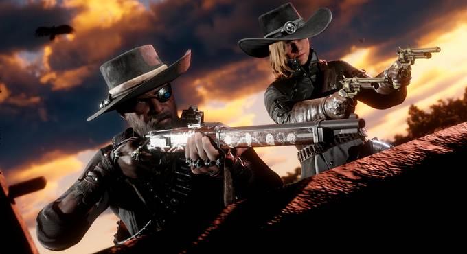 Red Dead Online Passe du hors-la-loi n° 4