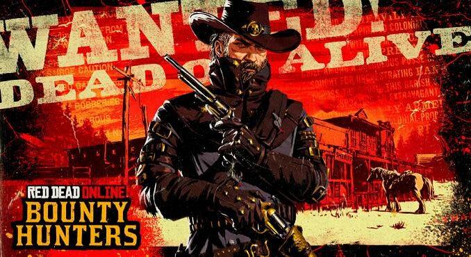 Red Dead online - Licence de chasseur de primes prestigieux PS5, Xbox PC, PS4