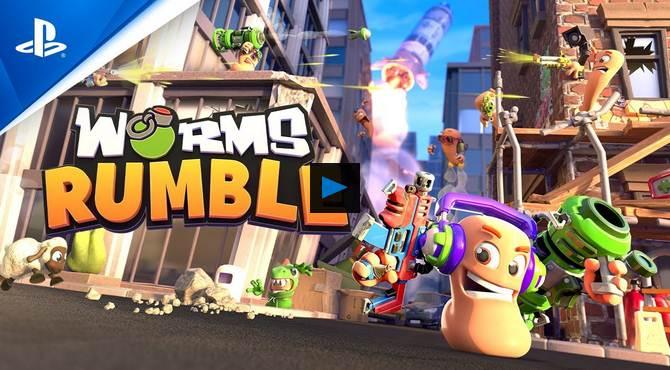 Free PS5 Games - Worms Rumble et Bugsnax gratuits sur PS5 PS Plus