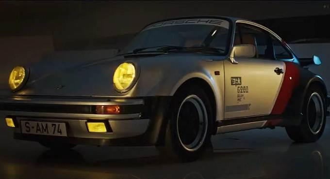 cyberpunk 2077 Porsche 911 II Turbo