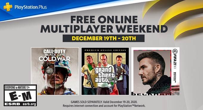 PS Plus week-end multijoueur en ligne gratuit - PS5 / PS4