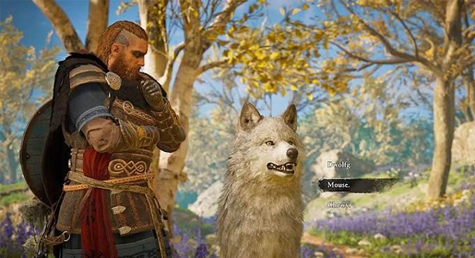 AC Valhalla Comment faire aider un loup au combat