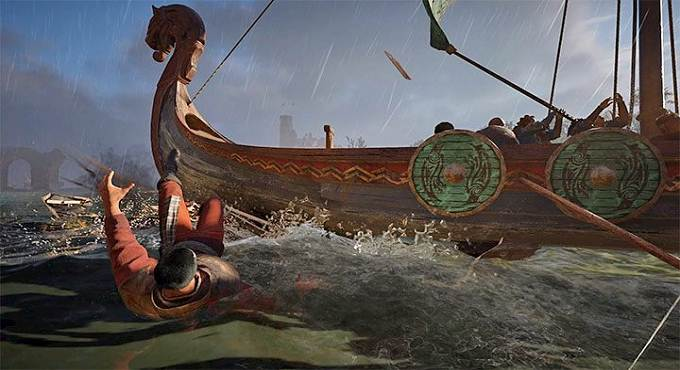 AC Valhalla Trophée Succès Row Rage - détruire cinq bateaux avec drakkar - Guide des trophées