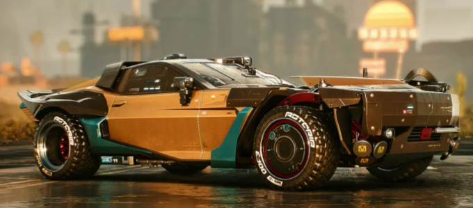 Cyberpunk 2077 Javelina Type-66 - Voiture rapide