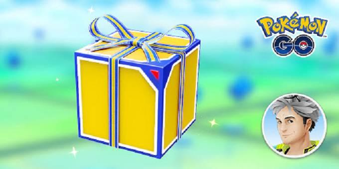Envoyer des cadeaux dans Pokemon Go