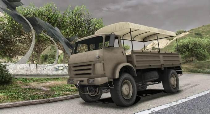 GTA 5 camion militaire Vetir - GTA Online Mise à jour