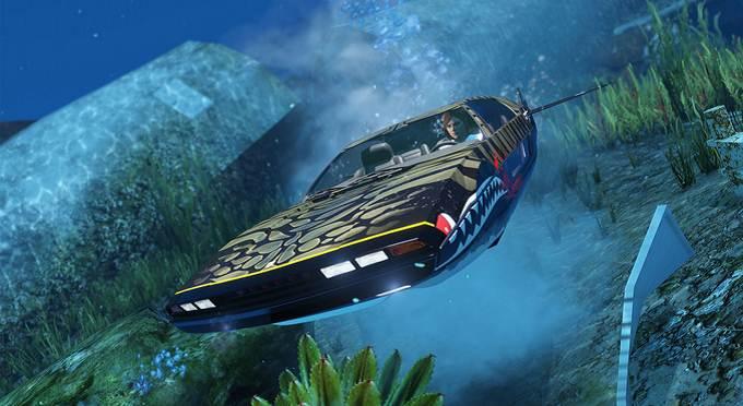 GTA Pegassi Toreador Motif Camouflage requin - GTA 5 GTA 6