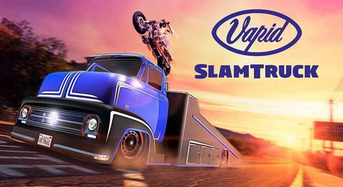 PS5 GTA Vapid Slamtruck - GTA Online / GTA 5 / GTA 6