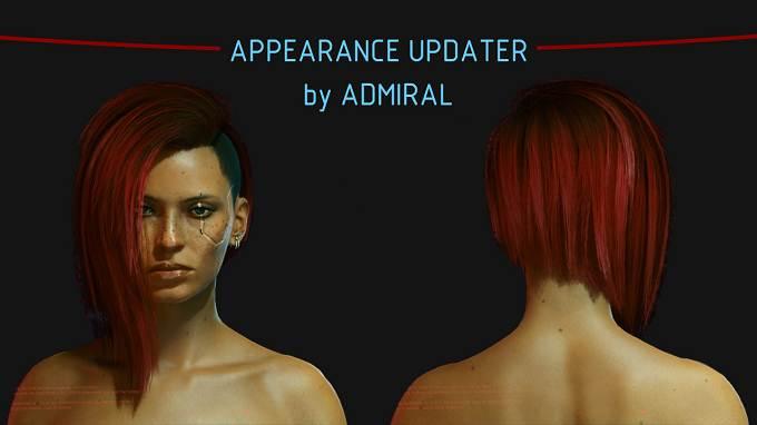 PC mods Cyberpunk 2077 - Arasaka Appearance Updater