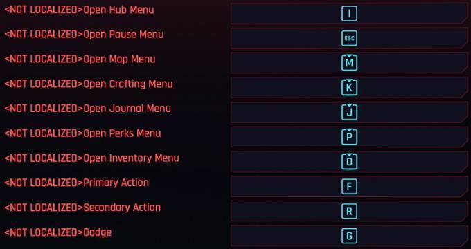 Meilleurs mods Cyberpunk 2077 PC - Better Controls Menu