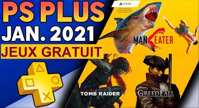 PS Plus Janvier 2021 Jeux PS5 / PS4 gratuits