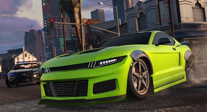 Vapid Dominator GTX GTA 5 GTA Online