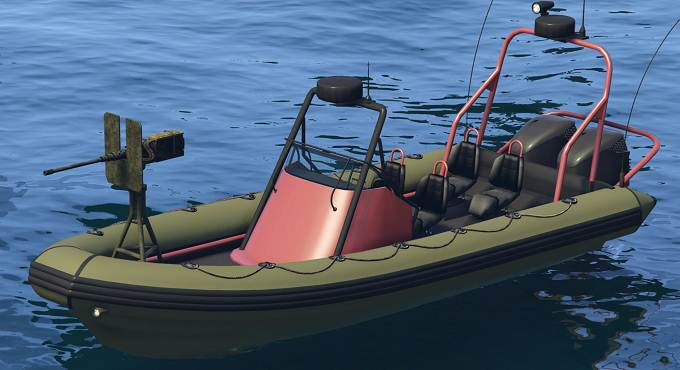GTA 5 Online Nagasaki Weaponized Dinghy