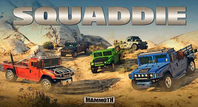 GTA Mammoth Squaddie - Mise à jour Février 2021