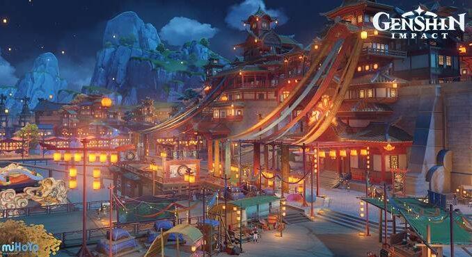 Genshin Impact festival Rite des Lanternes Lantern Rite - Guide