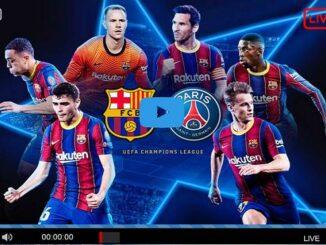Streaming live PSG - Barcelone, Paris Saint-Germain vs Barcelona Live Stream UEFA 2021