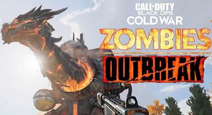 Call of Duty Black Ops Cold War Zombies Outbreak œuf de Pâques du dragon épidémique