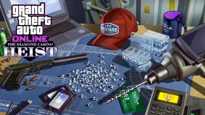 GTA 5 Online Braquage Diamond Casino