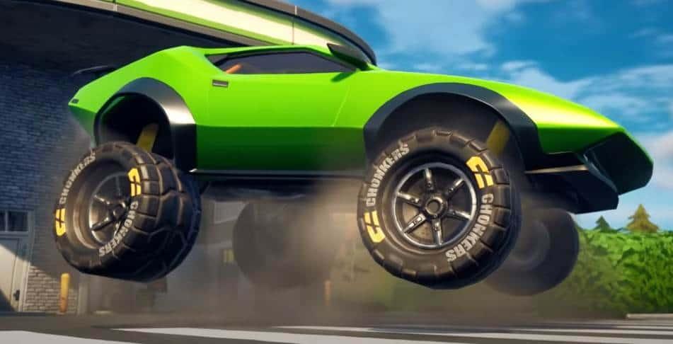 Comment ajouter des pneus tout-terrain à votre véhicule dans Fortnite