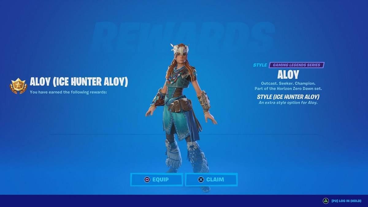 Comment obtenir le skin Ice Hunter d'Aloy dans Fortnite
