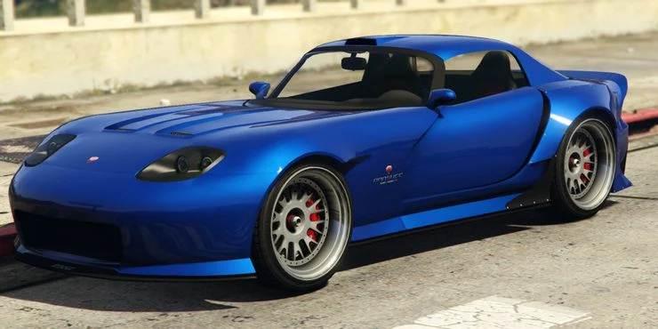 GTA 5 Bravado Banshee 900R - 10 meilleures voitures les plus rapides dans GTA Online
