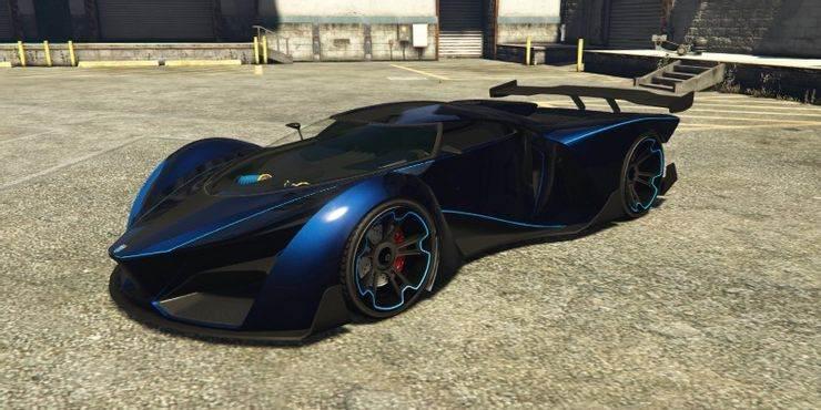 GTA 5 Grotti X80 Proto - 10 meilleures voitures les plus rapides dans Grand Theft Auto Online
