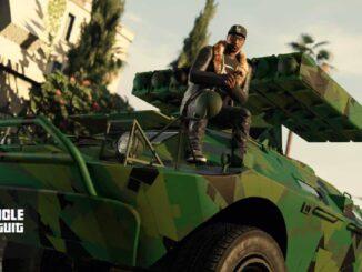 GTA 5 Motif camouflarbre gratuit dans la mise à jour de GTA Online