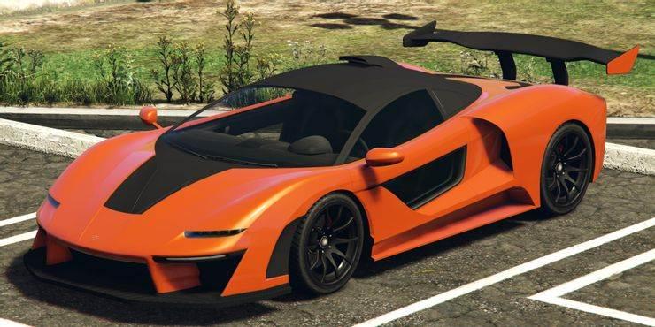 GTA 5 Progen Emerus - 10 meilleures voitures les plus rapides dans GTA 5 Online