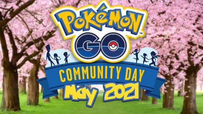 Pokémon Go mai 2021 - Tous les événements à venir