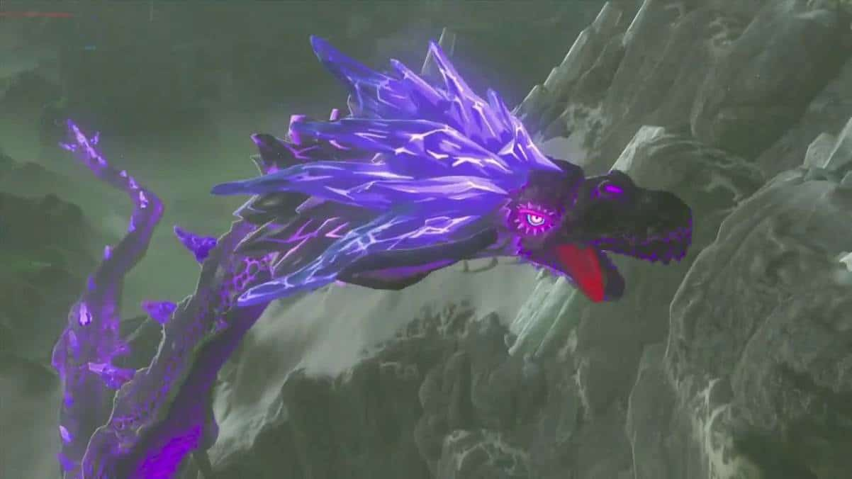 DRAGON NEDRAC - The Legend of Zelda Breath of the Wild Soluce