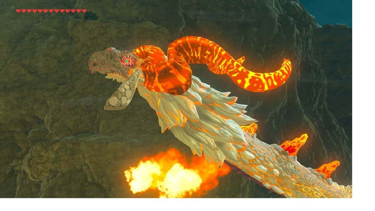 DRAGON ORDRAC - The Legend of Zelda Breath of the Wild Soluce Quête de Sanctuaire Tsutsua'nima