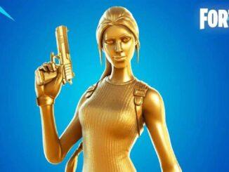 Fortnite: Comment débloquer Le skin Lara Croft Gold (version dorée)