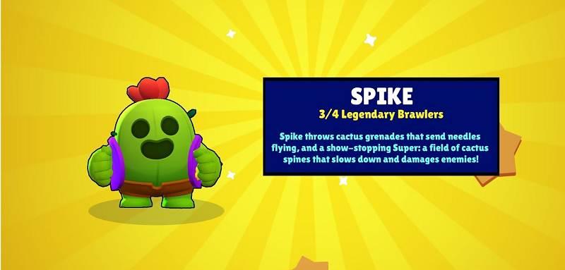 Spike - Brawl Stars Meilleurs Brawlers