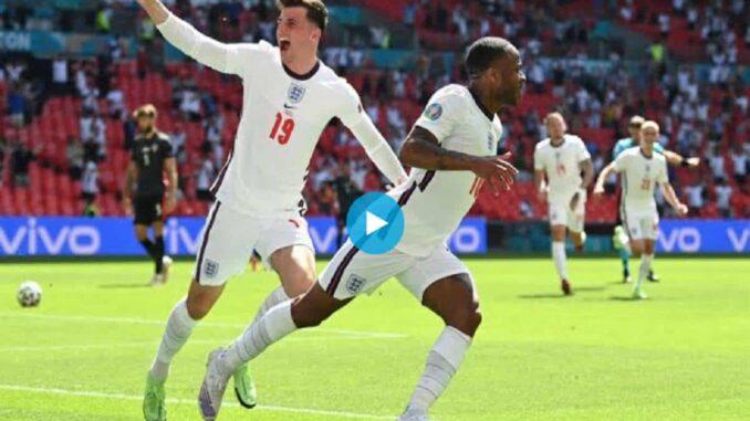 EURO 2021 Regardez le but de la victoire de Sterling pour l'Angleterre Angleterre - Croatie (1-0)