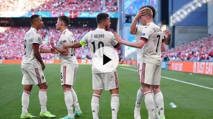 Euro 2021 - la Belgique se qualifie contre le Danemark grâce à De Bruyne