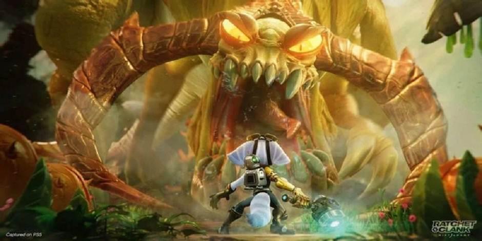 Ratchet and Clank Rift Apart - Comment tuer 5 Grunthors (trophée de l'événement d'extinction)