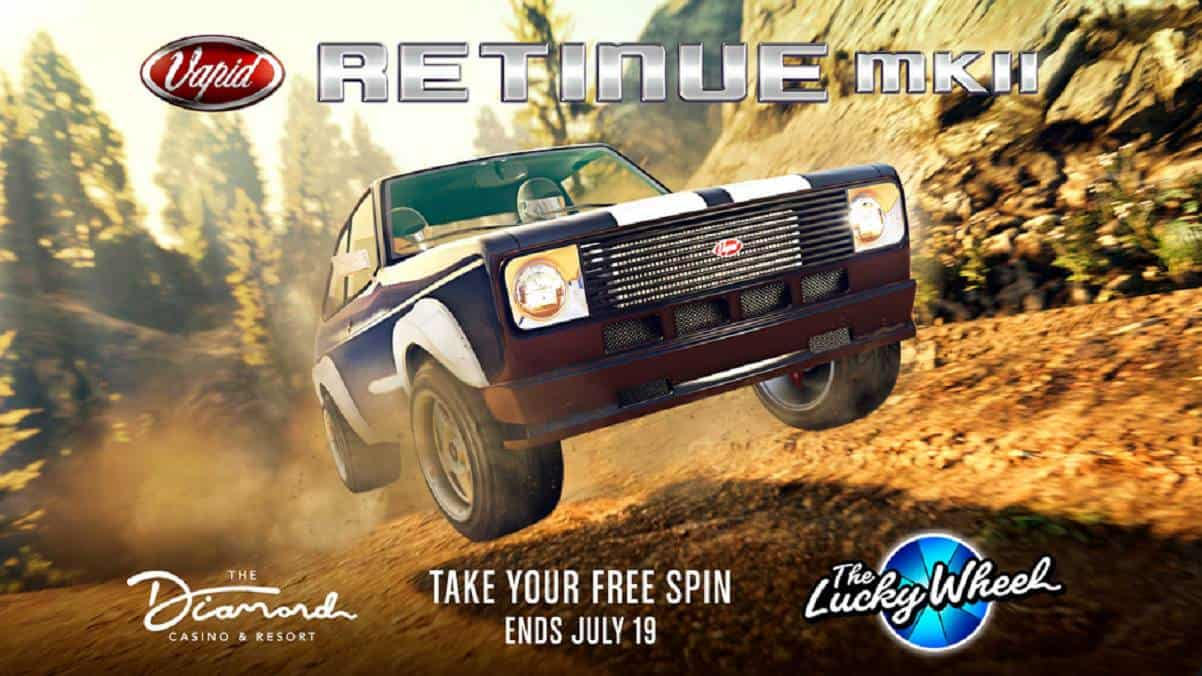 GTA Online Casino Vapid Retinue Mk II - GTA 5