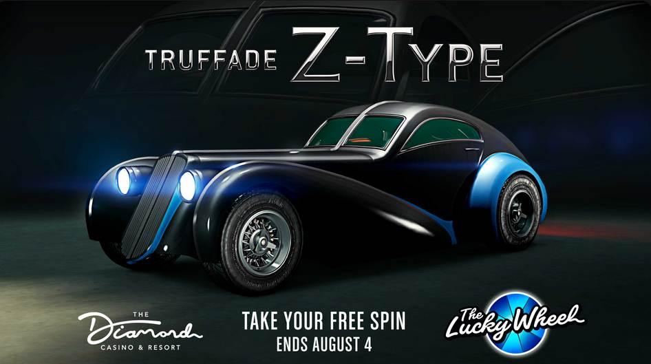 GTA Online Truffade Z-Type PS5 / XBOX SERIES X / PC / PS4