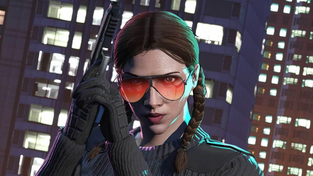 GTA 5 lunettes XXL verres solaires - Gta Online promo de la semaine