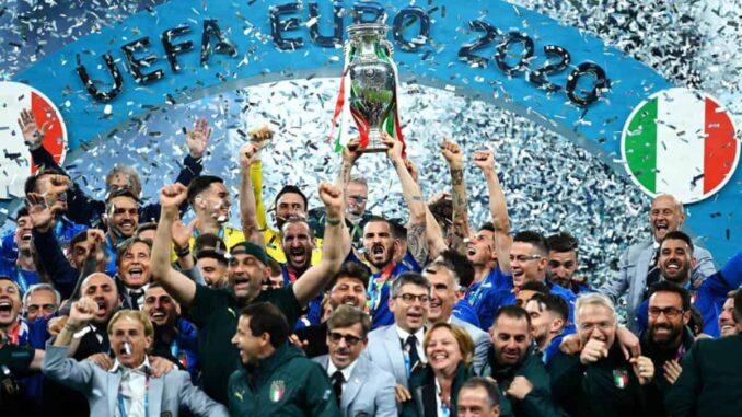 Italie Championne d'Europe 2020 - 2021 UEFA