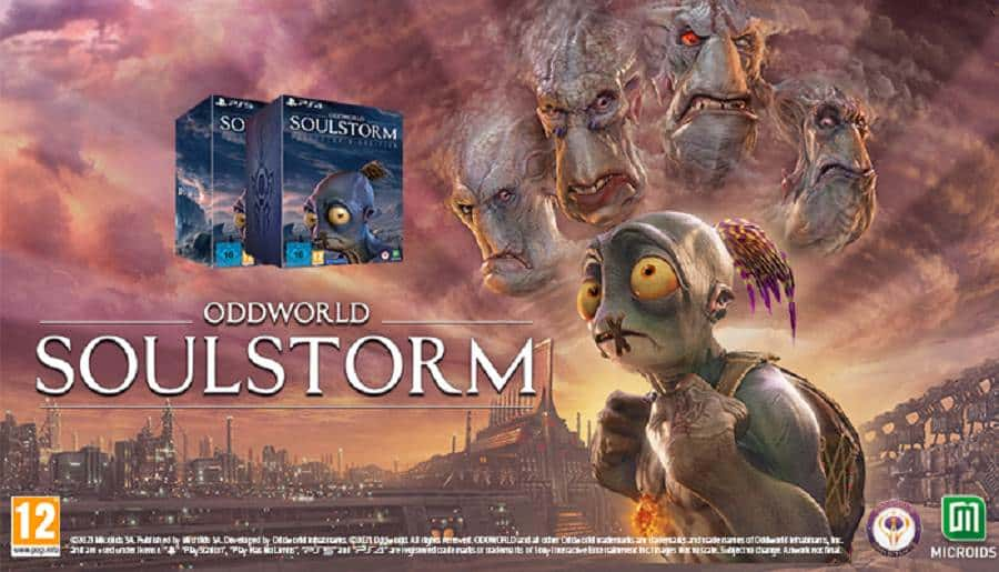 Oddworld Soulstorm Day One Edition, Microids juillet 2021