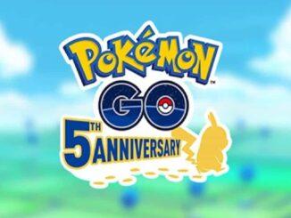 Tâches de recherche du 5e anniversaire de Pokemon Go