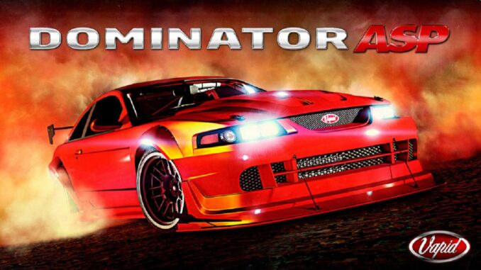 GTA Online Vapid Dominator ASP - GTA 5 / PS5, PS4, XBOX, PC Mobile