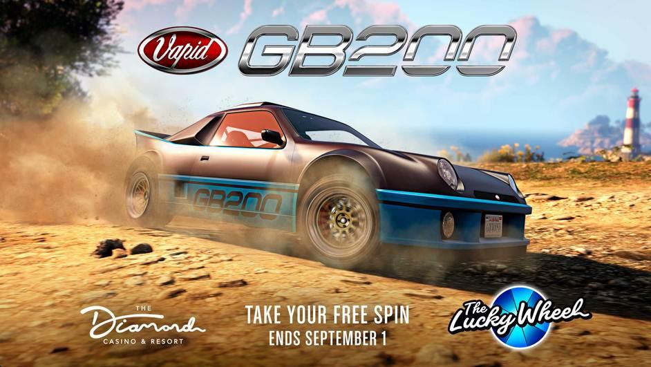 GTA Online Casino Vapid GB200 gratuit - GTA 5 PS5 PS4 Xbox PC Android