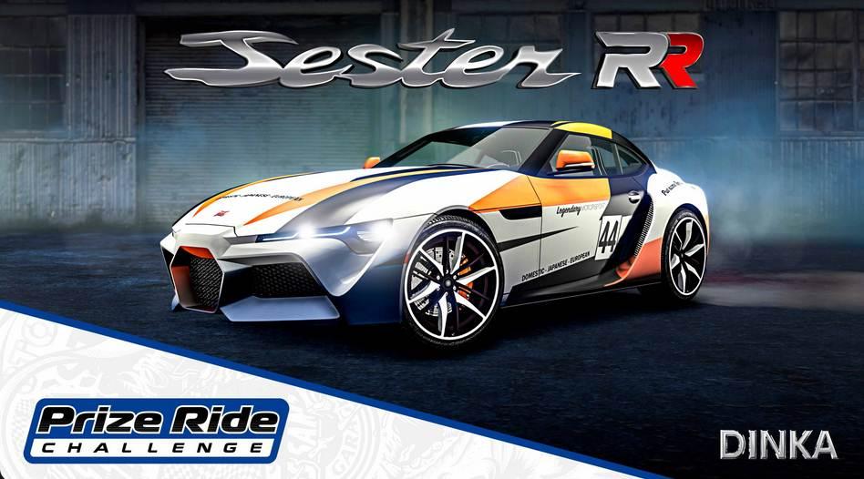 GTA Online Dinka Jester RR - GTA 5 / GTA 6 / PS5 PS4 PC Xbox Mobile
