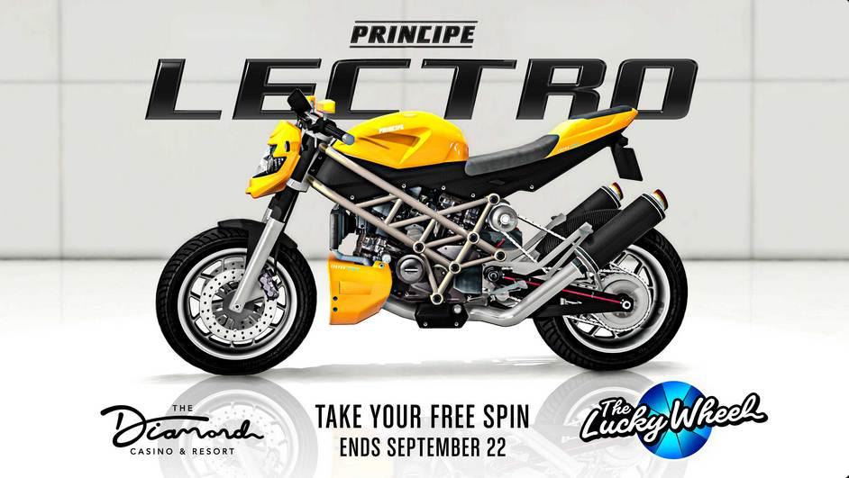 GTA Online Moto Principe Lectro - GTA 5 / GTA 6 / PS5 PS4 PC Xbox Mobile