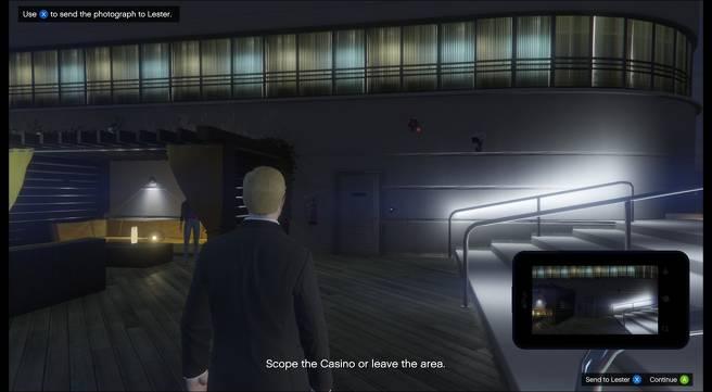 Emplacements des points d'accès au casino - gta online reperage points d'accès casino