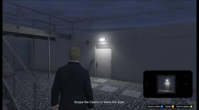 Emplacements des points d'accès au casino pour le braquage dans GTA 5 Online