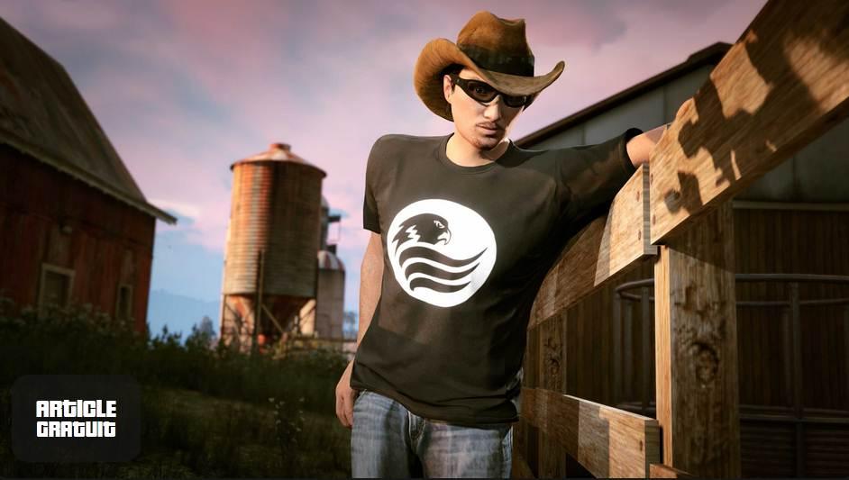 GTA Online t-shirt Blaine County Radio - Grans Theft Auto V / GTA 5