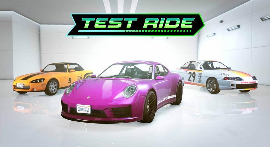 NOUVELLES voitures d'essai LS Car Meet dans GTA V Online PC PS5 Xbox et mobile